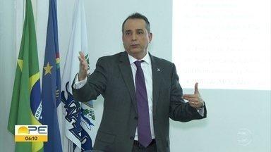 Secretário da Fazenda de PE apresenta proposta de reforma tributária dos estados - Principal mudança é a substituição de cinco impostos por dois.