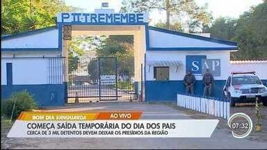 Detentos deixam presídios de Tremembé para 'saidinha' de Dia dos Pais - Veja as informações no link.