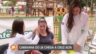 Cruz Alta recebe a Caravana do Jornal do Almoço - Música, ações de saúde e outras atividades acontecem na Praça da Matriz.