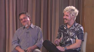 De filho para pai - Pedro Morais presenteia Dalton Magalhães com a produção de seu primeiro álbum.