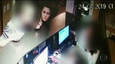 """Suspeita de aplicar golpe """"boa noite cinderela"""" é presa com máquinas pra passar cartões - A mulher presa em São Paulo também tinha remédios para provocar sono."""