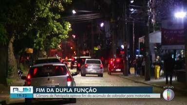 Câmara de Petrópolis aprova fim do acúmulo de funções de cobrador para motoristas - Votação foi realizada em regime de urgência.