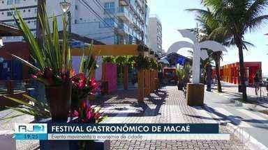 Festival de Gastronomia de Macaé prevê público de 30 mil pessoas - Evento deve movimentar economia da cidade.