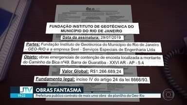 Prefeitura publica no Diário Oficial o contrato de mais uma obra fantasma - O valor é de mais de R$1,2 milhões e os trabalhos começaram há mais de três meses.