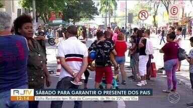 Rua de Compras acontece na Vila Santa Cecília, em Volta Redonda - Evento especial de Dia dos Pais tem objetivo de aquecer as vendas.