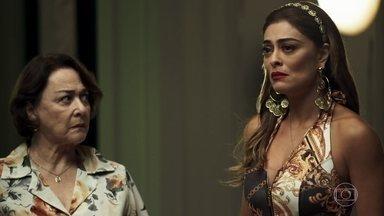 Amadeu e Maria selam seu acordo de paz - Rael insiste em resgatar sua arma, mas ninguém a encontra