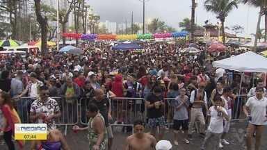 São Vicente recebe a 10ª edição da Parada LGBTQI+ - Milhares de pessoas acompanharam os shows.