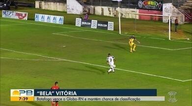 Assista aos gols da vitória do Botafogo-PB sobre o Globo FC - Belo derrotou a Águia por 3 a 0 no último sábado , em confronto válido pela décima sexta rodada do Campeonato Brasileiro da Série C