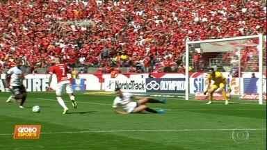 Em jogo fraco, Internacional e Corinthians ficam no empate - Em jogo fraco, Internacional e Corinthians ficam no empate