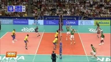 Seleção masculina de vôlei masculino vence a Bulgária e se garante na Olimpíada de Tóquio - Seleção masculina de vôlei masculino vence a Bulgária e se garante na Olimpíada de Tóquio