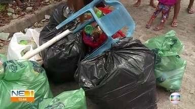 Gincana entre comunidades do Recife premia a que mais recolher embalagens de plástico - Ao todo, 20 comunidades participam da iniciativa.