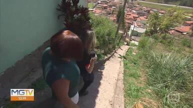 MG Móvel vai a Nova Lima conferir entrega de obra - Moradores do bairro Cruzeiro aprovam obras realizadas na Avenida Nossa Senhora da Piedade.