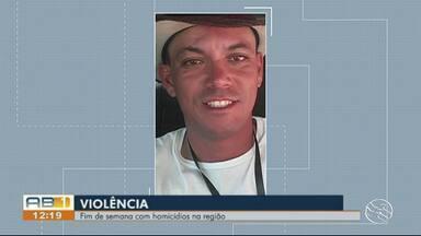 Crimes são registrados durante o fim de semana no Agreste de Pernambuco - Dois homens foram assassinados em Cupira e Caruaru.