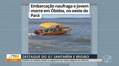 Afogamento e morte de jovem em Óbidos é destaque no G1 Santarém e região - Confira esta e outras notícias acessando o portal.