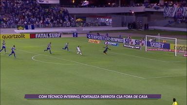 No primeiro jogo sem Rogério Ceni, Fortaleza vence o CSA pelo Brasileirão - No primeiro jogo sem Rogério Ceni, Fortaleza vence o CSA pelo Brasileirão