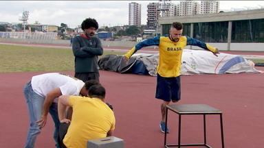 Atletas paralímpicos participam de campanha de mídia do CPB - Atletas paralímpicos participam de campanha de mídia do CPB
