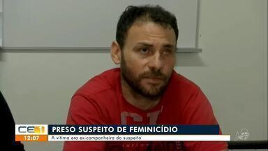 Preso suspeito de matar a ex-companheira em Maracanaú - Saiba mais em g1.com.br/ce