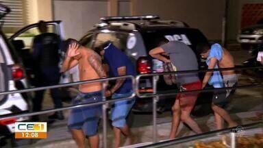 Tiros e pancadaria entre grupos rivais no bairro Jacarecanga - Saiba mais em g1.com.br/ce
