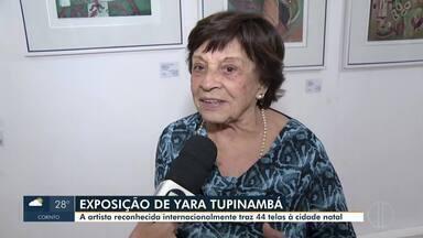 Artista Plástica Yara Tupinambá realiza exposição em Montes Claros - Exposição da montes-clarense segue até setembro.