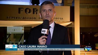 Acusado de matar criança em acidente de trânsito está sendo julgado em São Luís - O repórter Werton Araújo tem mais informações.