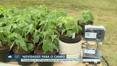 """Encubadora da USP reúne startups de agronegócio em Piracicaba - Município, considerado um polo de desenvolvimento no setor, é chamado de """"Vale do Agronegócio""""."""