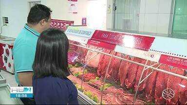 Preço de carne aumenta 8% no Sertão - Custo tem pesado no bolso do consumidor.