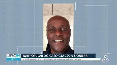 Suspeito de atacar médico com soda cáustica é julgado em Porto Velho - A previsão é que o julgamento siga até às nove da noite.