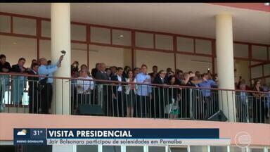 Presidente visita o Piauí e participa de solenidades em Parnaíba - Presidente visita o Piauí e participa de solenidades em Parnaíba