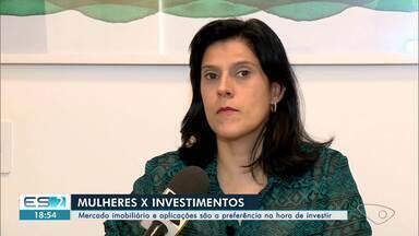 Pesquisa revela crescimento no número de mulheres investidoras - Em Linhares, elas apostam em imóveis e aplicações financeiras.