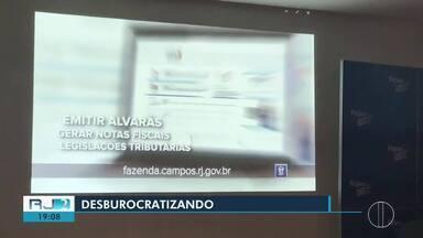 Prefeitura de Campos lança site para a Secretaria da Fazenda - No portal, serão oferecidos serviços da secretaria.