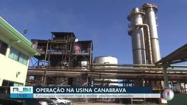 Após operação do MPT, funcionários de empresa de Campos recebem pagamentos - Funcionários começaram hoje a receber vencimentos atrasados.