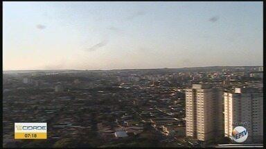 Confira a previsão do tempo para esta quinta-feira (15) em Ribeirão Preto - Temperatura chega a 27°C.