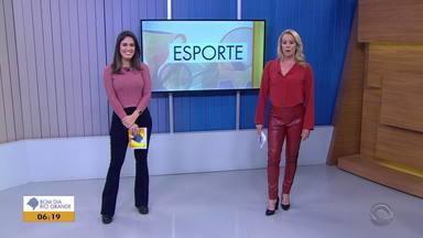 Confira os destaques do esporte no Bom Dia Rio Grande desta quinta (15) - Assist ao vídeo.