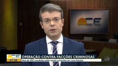 Facções criminosas são alvo de operação do Ministério Público - Confira mais notícias em g1.globo.com/ce