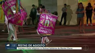 Festa de Agosto começa com levantamento do Mastro de Nossa Senhora do Rosário - Programação segue até domingo.
