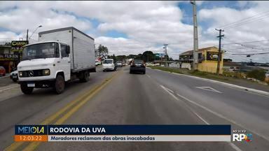 Rodovia da Uva: as obras devem ser concluídas em 2020 - Numa nova nota do DER, a afirmação é pro primeiro semestre do ano que vem