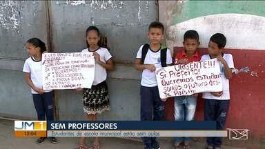 Falta de infraestrutura e professores causa transtornos a estudantes de escola em São Luís - Pais cobram providência por parte da Secretaria Municipal de Educação em relação a situação da escola Odylo Costa Filho.