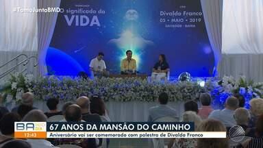 Mansão do Caminho completa 67 anos de trabalhos sociais nesta quinta-feira (13) - Aniversário vai ser comemorado com palestra do líder espírita Divaldo Franco.