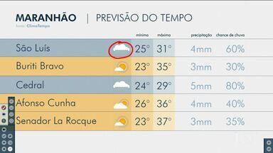Confira as variações do tempo nesta quinta-feira (15) no Maranhão - Veja como deve ficar o tempo e a temperatura em São Luís e no Maranhão.