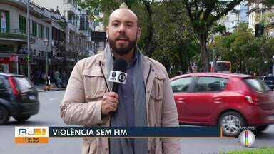 Homem é preso por tentar matar a mãe e a irmã em Petrópolis, no RJ - Assista a seguir.