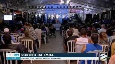 Em Campo Grande 536 imóveis serão sorteados pela Empresa Municipal de Habitação - Imóveis serão sorteados durante evento nos altos da Afonso Pena.
