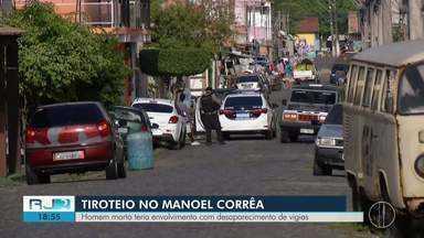 Homem morto teria envolvimento com desaparecimento de vigias - Tiroteio no Manoel Côrrea em Cabo Frio.