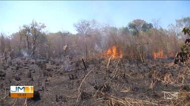 População reclama da fumaça das queimadas em Balsas - Número de incêndios nos arredores da cidade aumentou nos últimos dias.