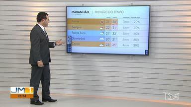 Confira as variações do tempo neste sábado (17) no Maranhão - Veja como deve ficar o tempo e a temperatura em São Luís e no Maranhão.