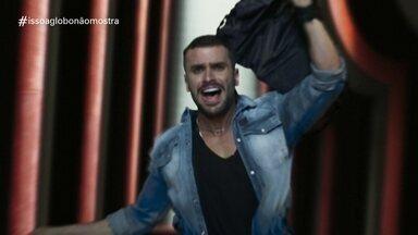 'Isso a Globo Não Mostra' #31: running caindo 1 - No quadro de humor do Fantástico, veja as notícias da semana tratadas de uma forma leve, além de brincadeiras com cenas exibidas na programação da Globo.