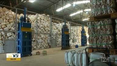 Central de embalagens vazias de agrotóxicos abre portas para estudantes em Balsas - Iniciativa da empresa serviu para reforçar a campanha sobre o uso correto dos agrotóxicos.