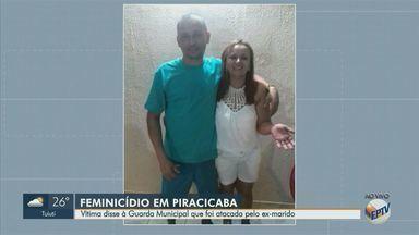 Morre mulher esfaqueada pelo ex-marido em Piracicaba e suspeito está foragido - Crime ocorreu no domingo (18) no Jardim Ibirapuera. Vítima de 47 anos foi atingida com pelo menos cinco facadas e chegou a ser socorrida, mas não resistiu.