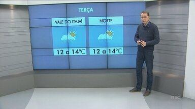 Confira a previsão do tempo em Blumenau e região - Confira a previsão do tempo em Blumenau e região
