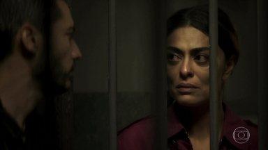 Camilo prende Maria da Paz - Sem arrependimento, Maria assume crime