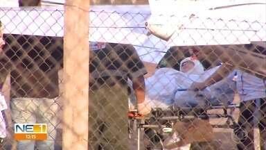Jovem escalpelada em kart vai precisar de novas cirurgias, dizem médicos de SP - Débora Oliveira está internada em Ribeirão Preto, no interior de São Paulo, desde o domingo (18).